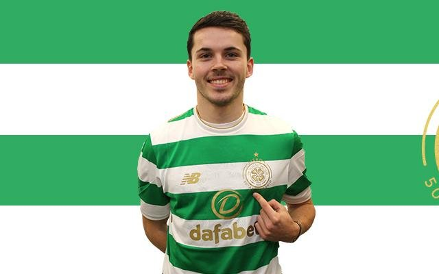 Image for Lewis Morgan, Welcome To The Celtic Family. Go On And Become A Legend.