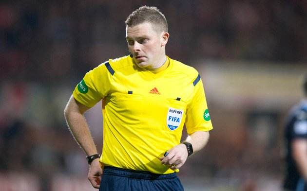 Image for John Beaton Will Referee Celtic's Title Decider. What A Scandalous Decision.