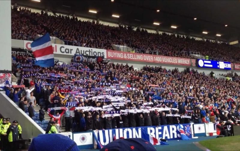 Sevco's Sanctioned Fan Group Has Crossed A Red Line Civic Scotland Cannot Just Ignore.