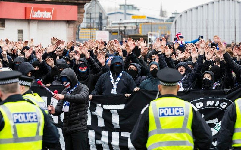 Image for Obsessed With Hatred, Steeped In Bile, Now Sevco's Crazies Want To Weaponize Racism.