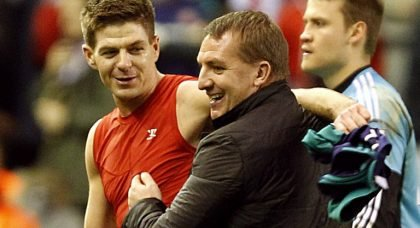Brendan Rises And Gerrard Falls On The Slippery Slope Of Management.