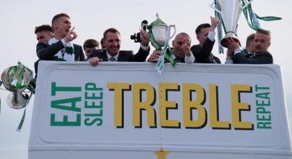 Celtic's 3Treble Bus Tour Will Remind Certain People What Colours Glasgow Really Is.