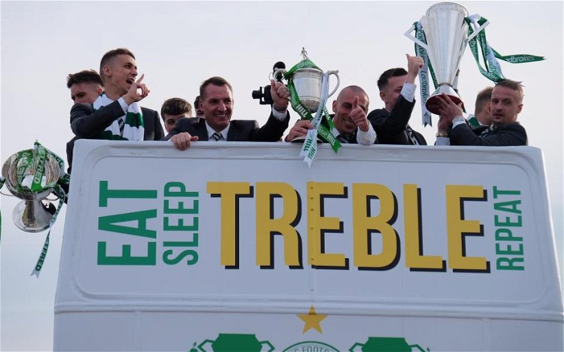 Image for Lafferty And Others Can Laugh It Up For Now But It'll Take More Than Talk To Stop Celtic.