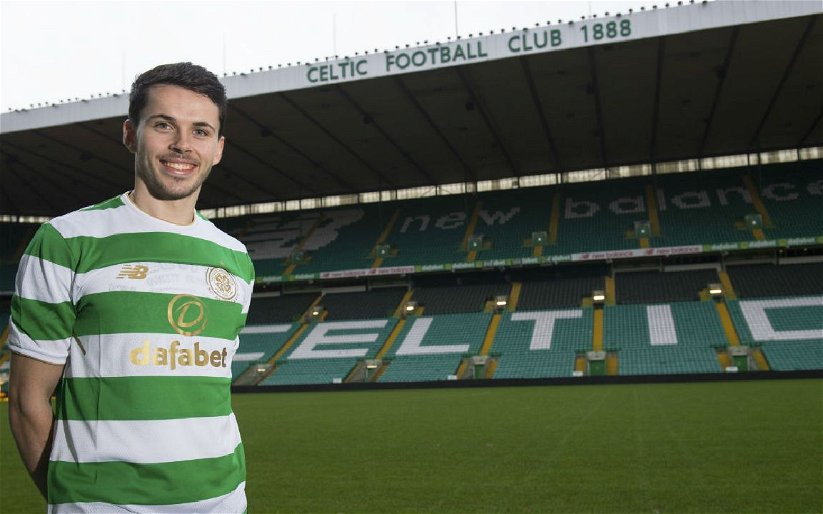 Image for Lewis Morgan Can Leave Knowing That The Road Back To Parkhead Is Open For Him.
