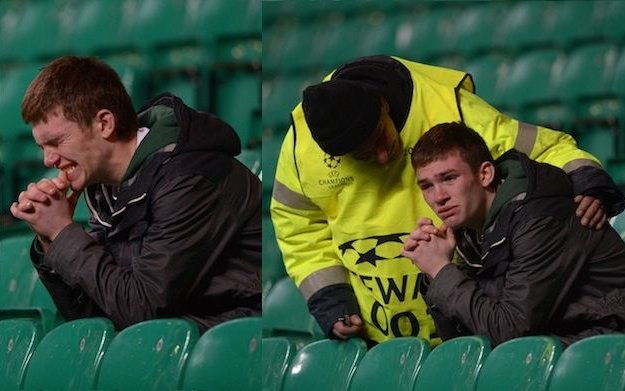 Image for Celtic Fans Turn On Their Team After Dismal Second Half Draw – An Exclusive By Keith Jackass
