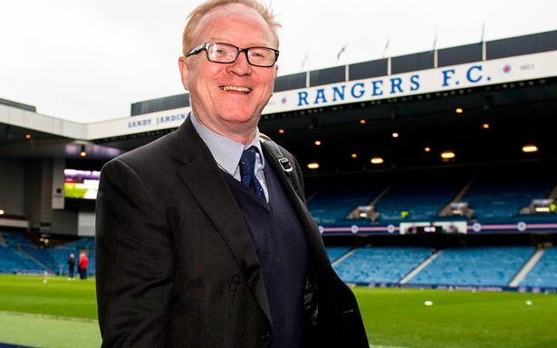 Image for Alex McLeish Is Just A Sevco PR Rep. Why Not Let Him Pursue That Role Full Time?
