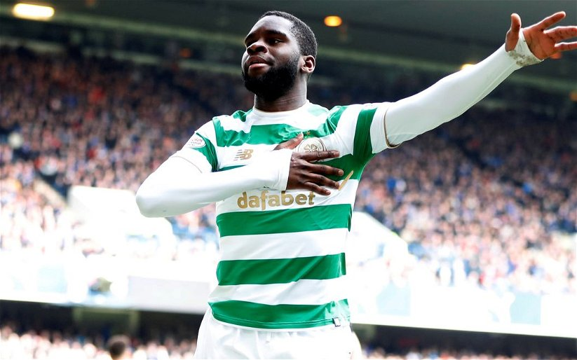Image for The Best Striker In Scotland Was On The Park Today. And He Stayed On It.