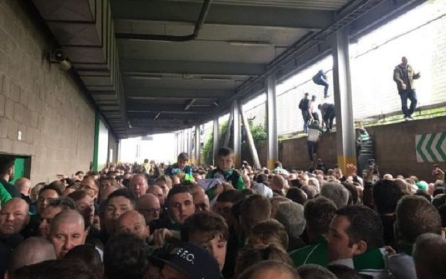 Image for The Police Seem To Have Already Cleared Themselves Over Sunday's Celtic Park Crush.