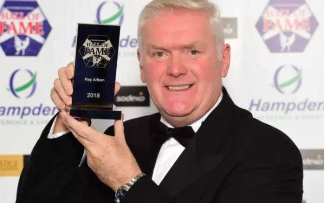Image for The Gascoigne Pity Party Could Not Overshadow Big Roy's Hall Of Fame Induction. Aitken Is A True Great.