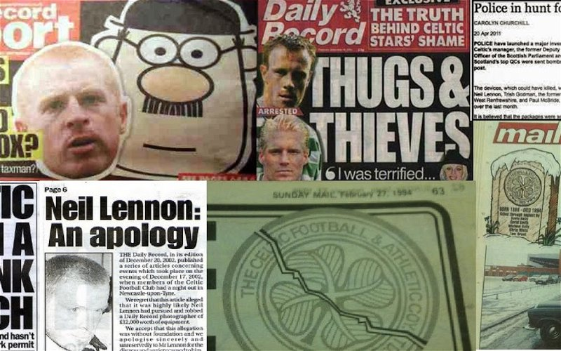 Image for Are These The Media's Most Notorious Anti-Celtic Stories?