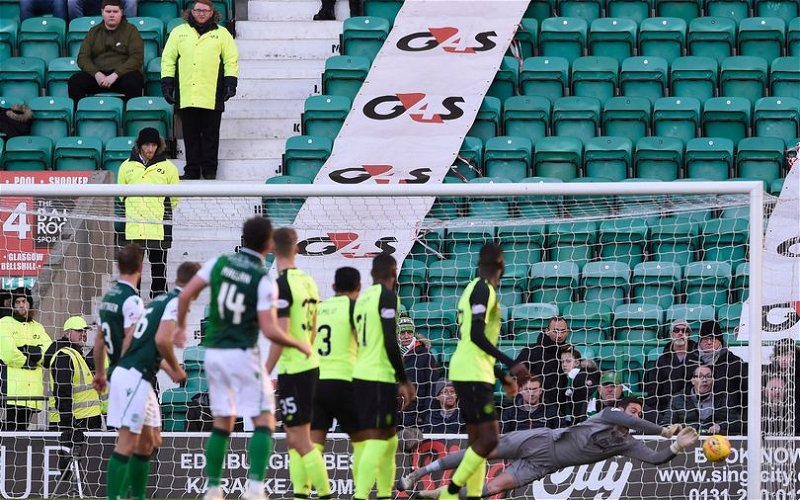 Image for Hibs Stupid Ticketing Policy Cost Them And Us Today. No Wonder Scottish Football Is Sneered At.