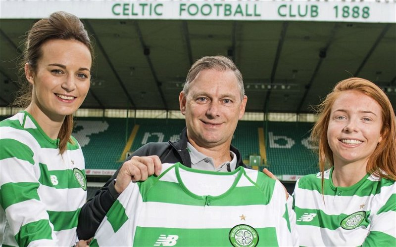 Image for Celtic's Decision To Create A Professional Women's Team Puts Us Ahead Of The Curve Yet Again.