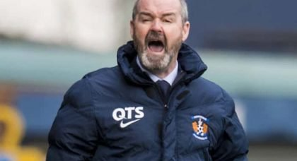 Steve Clarke Refuses To Give The Media The Anti-Celtic Headline They Were Fishing For.
