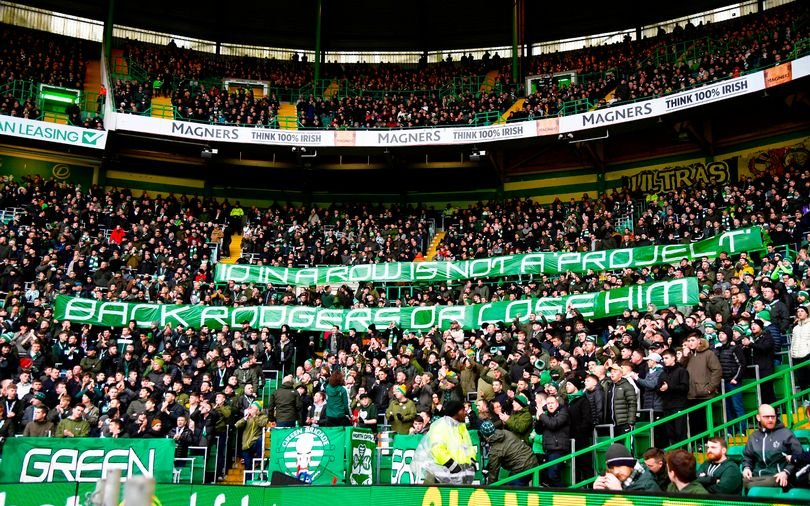 Image for A Routine Win Sees The Green Brigade Make Their Feelings Known To The Board.