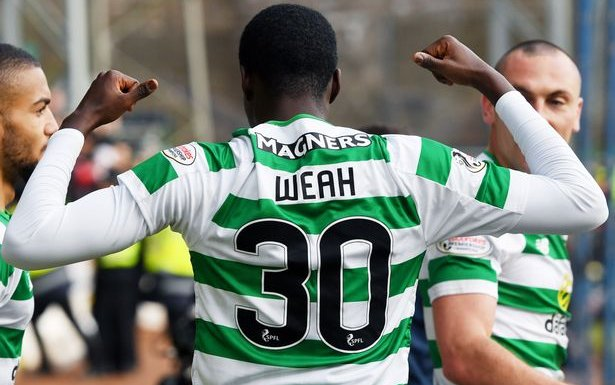Image for Another Atrocious Refereeing Decision Can Do Nothing To Derail The Celtic Machine And Timothy Weah.