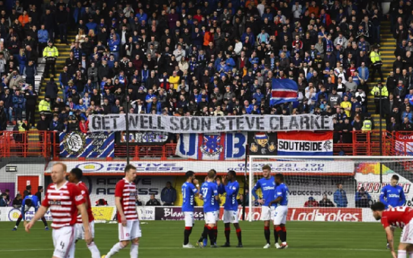 Image for This Is The Disgusting Way The Ibrox Support Chose To Respond To A Week That Seared Their Club.