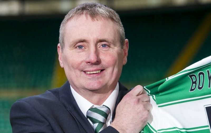 Gordon Waddell's Piece On Celtic's Ambassador Boyd Makes Him Look Ridiculous, Not Our Ex Captain.