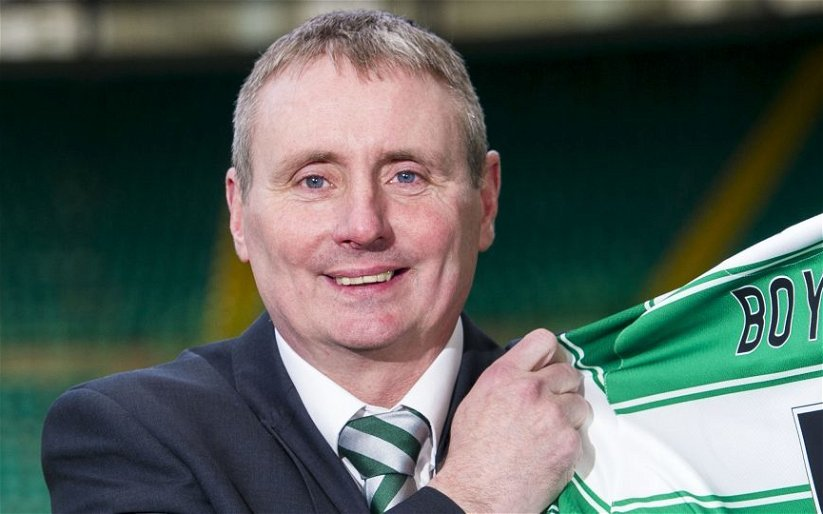 Image for Gordon Waddell's Piece On Celtic's Ambassador Boyd Makes Him Look Ridiculous, Not Our Ex Captain.