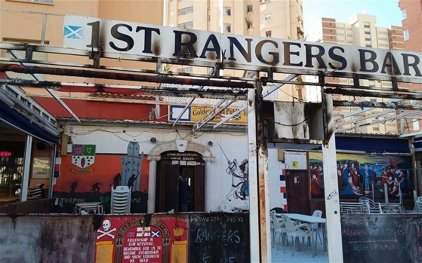 """Image for Let's Kill This Nonsense; Celtic Fans Did Not """"Petrol Bomb"""" An Ibrox Club Bar In Benidorm."""