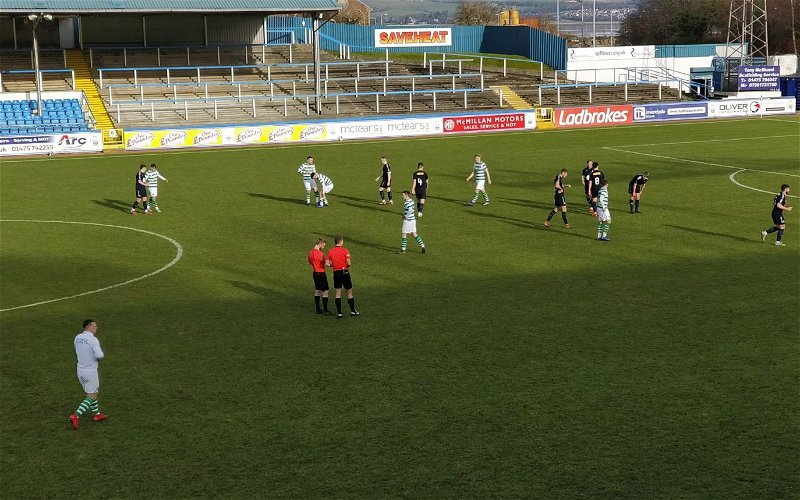 Image for Celtic's New Bhoy Bayo Takes His Bow But He's Upstaged As Our Reserves Hit Four Past Falkirk.
