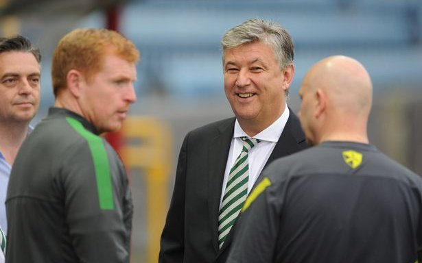 Image for Lennon's Meeting With Lawwell To Discuss The Summer Must Not Mean He Already Has The Managers Job.