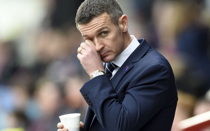 Image for Jim McIntyre's Comments On Celtic's Late Goal Are Daft. The Media's Support For Him Is Worse.