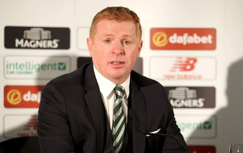 Lennon Hits Back At Whoever Is Leaking The Celtic Line-Ups To The Public.