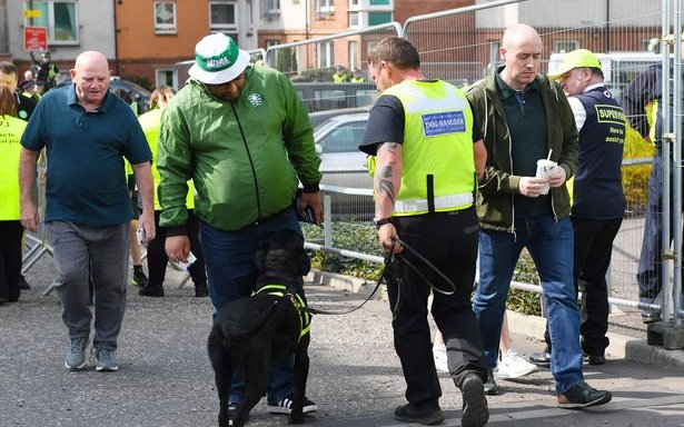 Image for Celtic Fans Need To Help Weed Out The Idiots In The Stands Or Sniffer Dogs Are Just The Start.