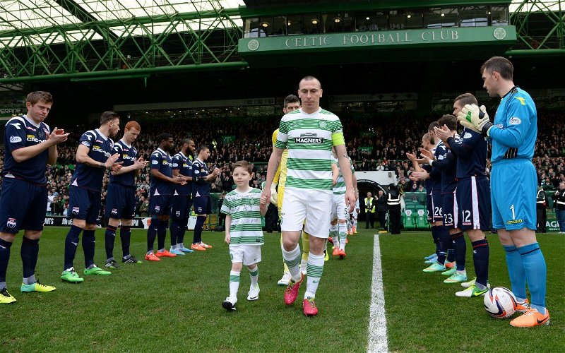 Image for Celtic Getting A Guard Of Honour At Ibrox Would Leech Some Of The Poison Out Of Our Game.