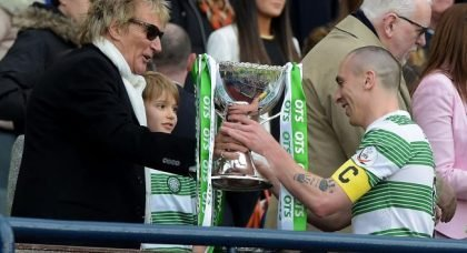 Another Media Embarrassment As Rod Stewart Sets Them Straight On Celtic Ranking.