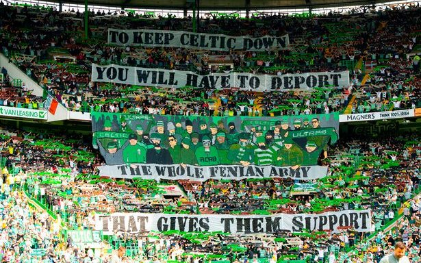 Image for The Green Brigade Are Being Blamed For UEFA's Ibrox Ban As Damning Footage Emerges From Warsaw.