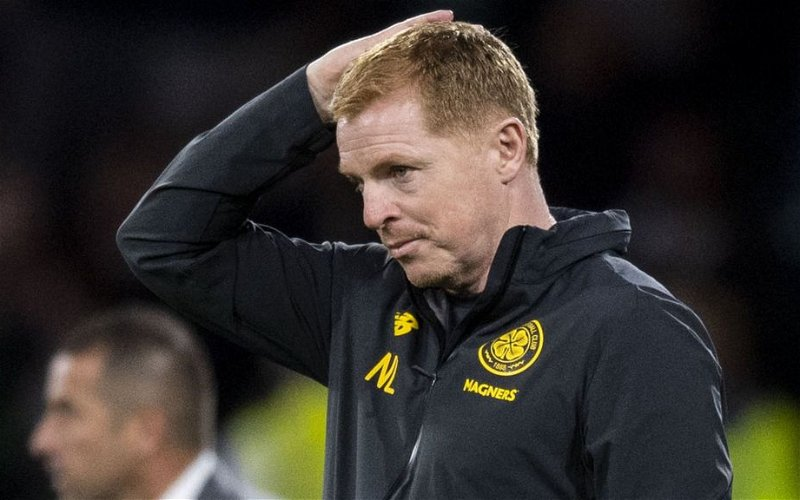 Image for Today Neil Lennon's Celtic Were Minutes From Disaster. Yes, We Should Be Worried.