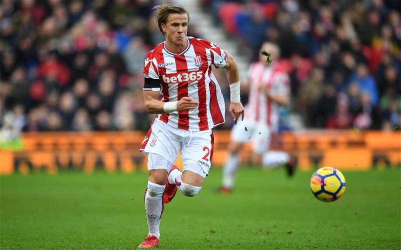 Image for Transfer News At Last! Celtic Signs Right Back Moritz Bauer On Loan From Stoke City.