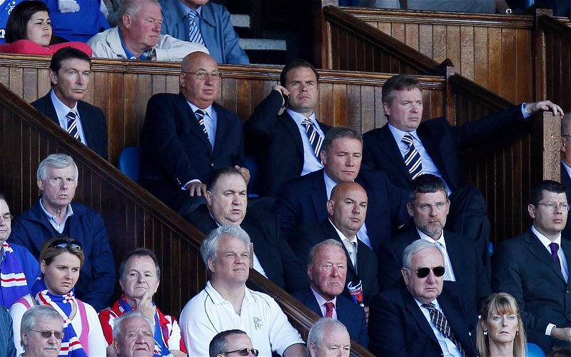 Image for Eight Years Ago This Week We Lost At Ibrox. For Their Fans It Was The Last Good Day.