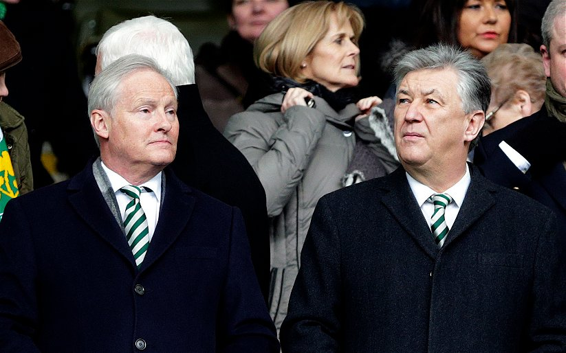 Image for Celtic Fans Need To Lessen The Criticism Of The Board That Has Built Our Current Success.