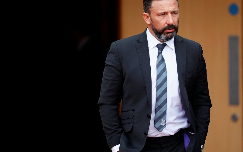 Image for Gutless McInnes Is Done. He Accepted Defeat Before Aberdeen's Game Kicked Off Yesterday.
