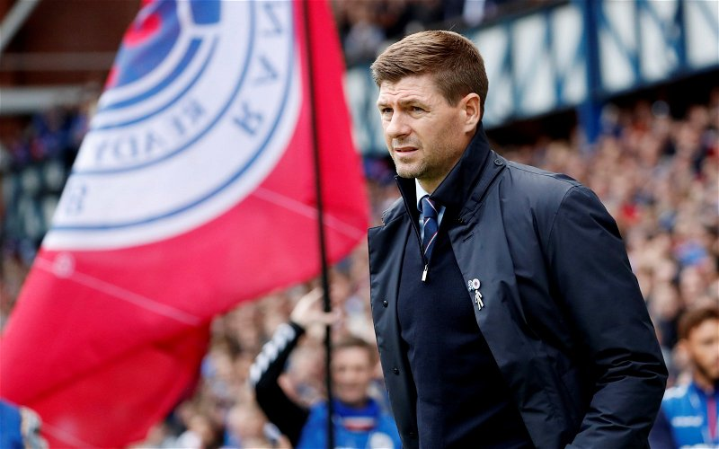 Image for Fear And Loathing And Steven Gerrard. Ibrox Reeks Of Failure And The Acceptance Of It.