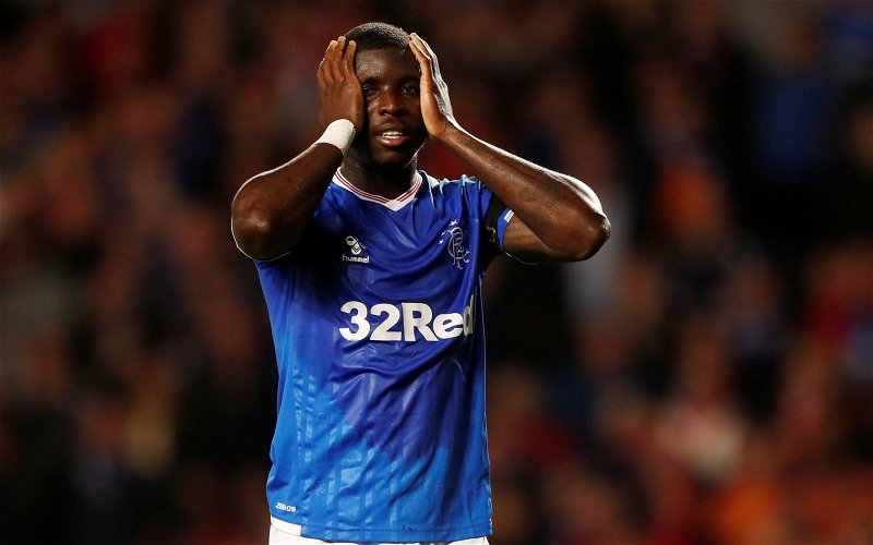 """Image for Ojo's """"Best In Scotland"""" Comments Prove That Ibrox's Mouthy Squad Never Learn."""