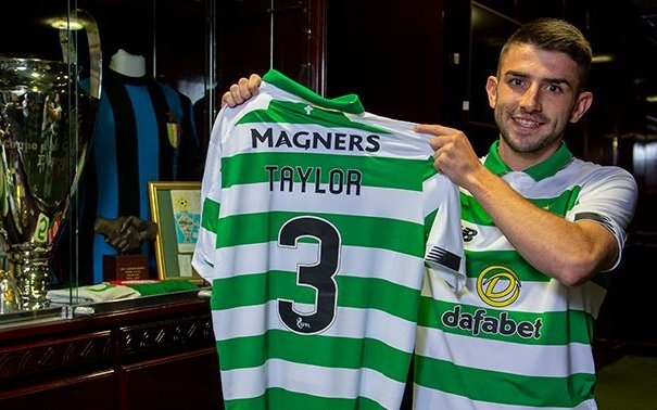 Image for Greg Taylor Is A Celtic Player And Will Wear The Number Three Shirt.