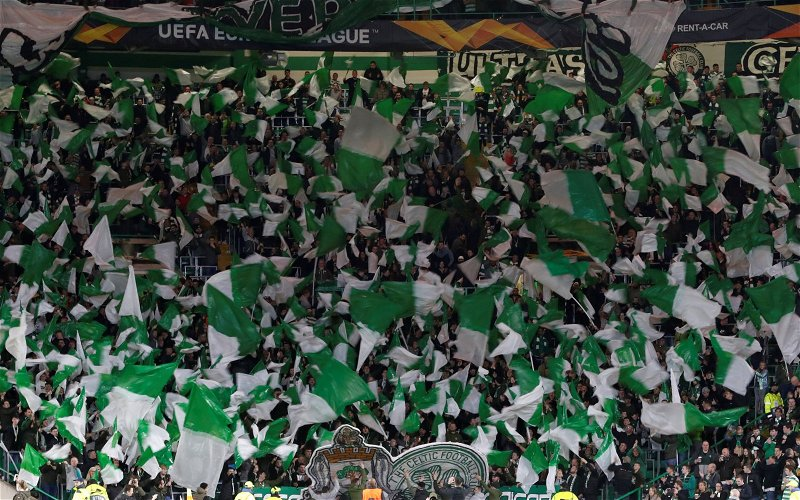 Image for The Green Brigade's Fund Raising Exposes UEFA's Hypocrisy And Our Media's Disgrace.