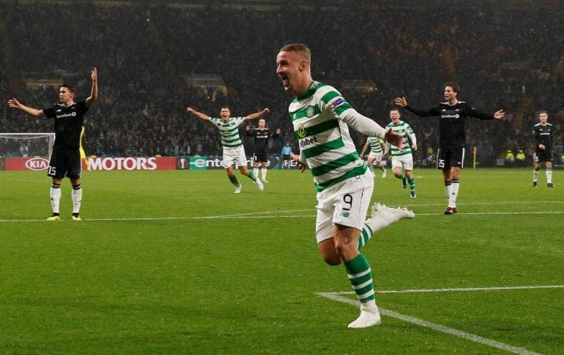 Leigh Griffiths Gives Us Hope That We Might Soon See Him Back In The First Team.