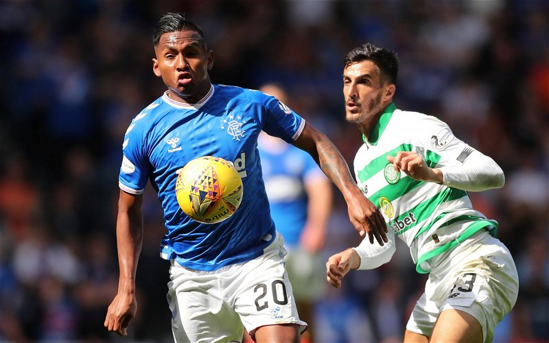 Image for Mad Dog Morelos Deserved His Red Card Today. The Sevco Fans Can Moan As Much As They Like.