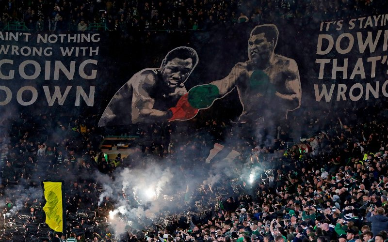 Image for Celtic's Plea For Fans To Ditch The Pyro MUST Be Heeded To Prevent A Major Showdown.