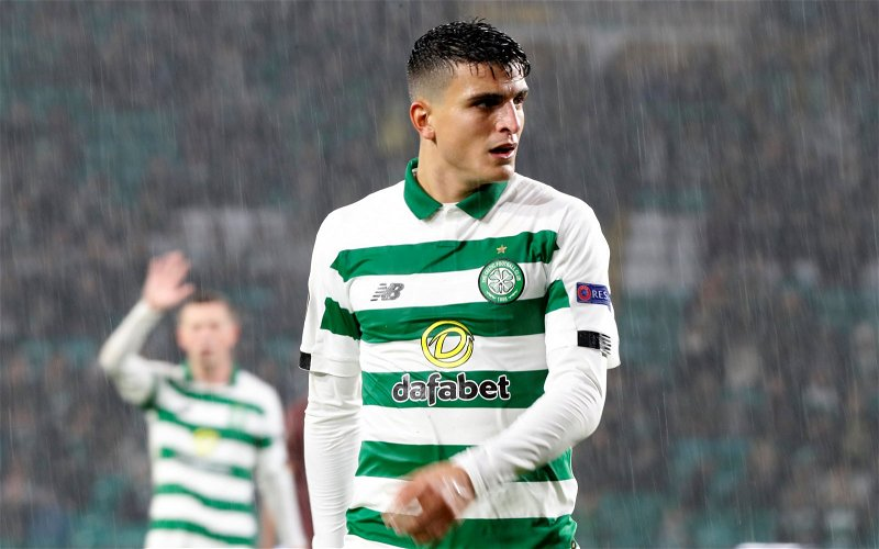 Image for Celtic Showed Up Tonight, And Bad Luck Has Denied Us An Outstanding Result.