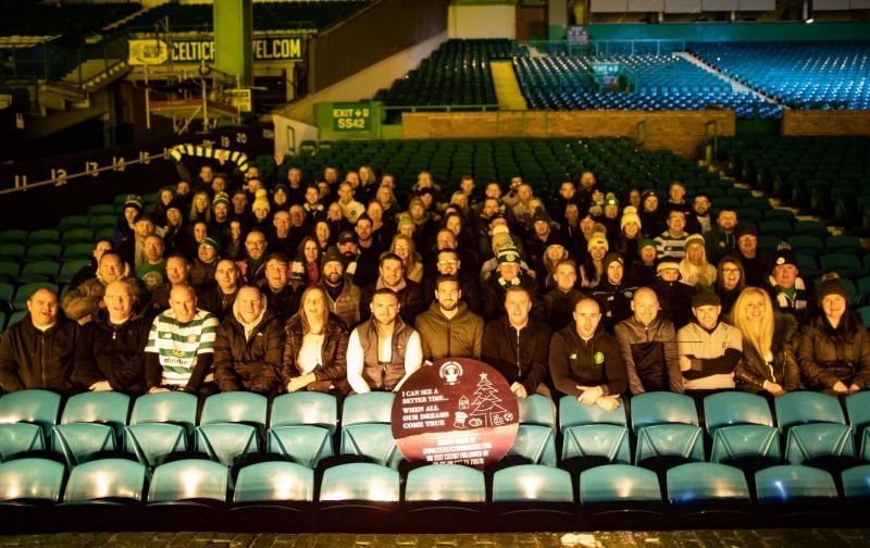 Hail Hail To The Celtic Fans Who Braved The Elements For The Annual Sleep Out.