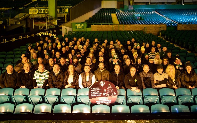 Image for Hail Hail To The Celtic Fans Who Braved The Elements For The Annual Sleep Out.