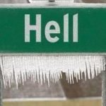When Hell freezes over maybe