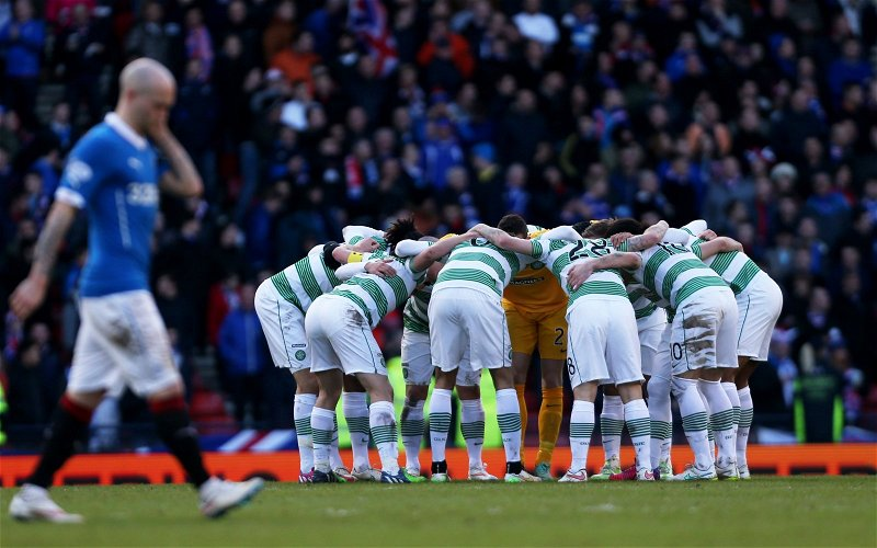 Image for Celtic Shouldn't Even Comment On This Guard Of Honour Nonsense.