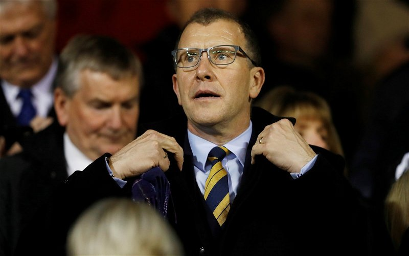 Image for The Last Person Celtic Fans Want To Hear Bang On About Sporting Integrity Is Stewart Regan.