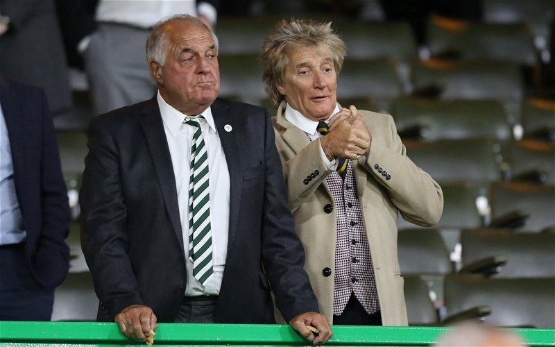 Image for Why Are Celtic Fans Surprised Rod Stewart Is A Tory? He's A Brainless Establishment Dolt With Money.